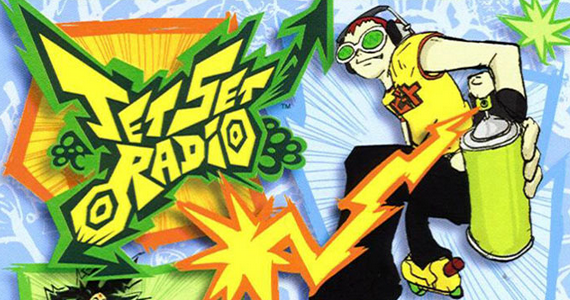 Jet Set Radio Box Art