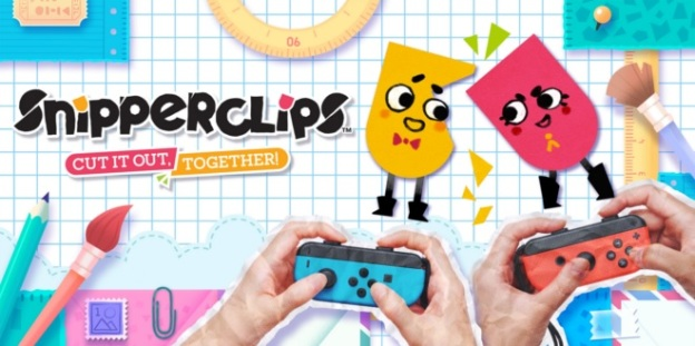 SnipperClips Cut it out, together! logo